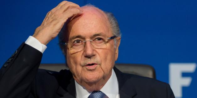 Jospeh Blatter im Juli 2015