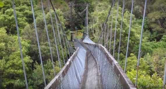 pont suspendu nouvelle zelande