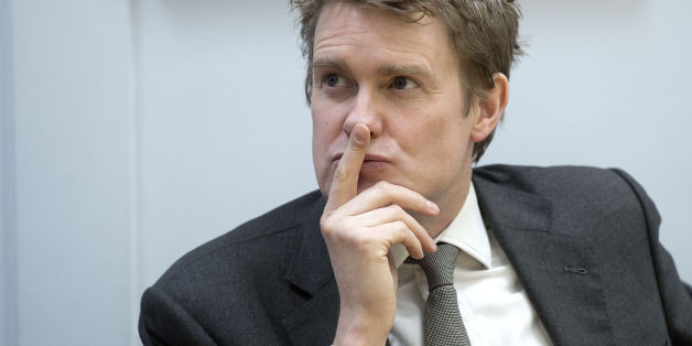 "Shadow Education Secretary Tristram Hunt during a visit to Little Ilford School, London, where he launched a plan for ""zero tolerance"" of homophobic language and bullying in schools in England."
