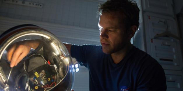 In der Film-Version schlüpft Matt Damon in die Rolle des einsamsten Menschen des Universums
