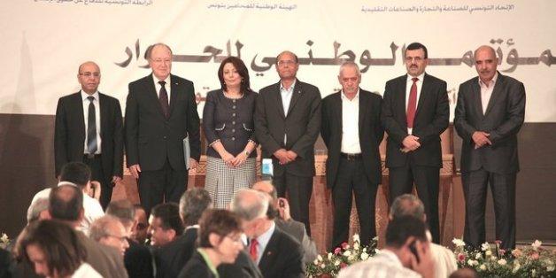 Quartet parrain du dialogue national tunisie