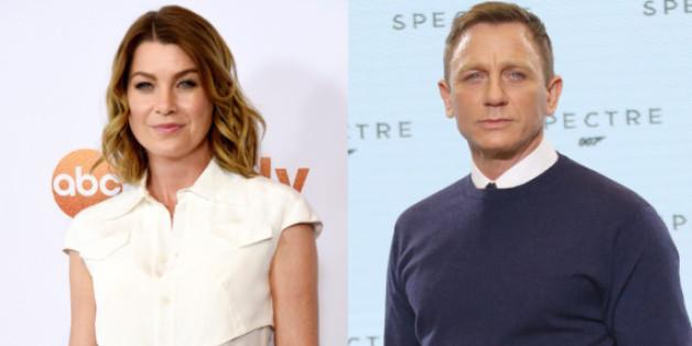 Ellen Pompeo machte Daniel Craig auf Twitter nieder