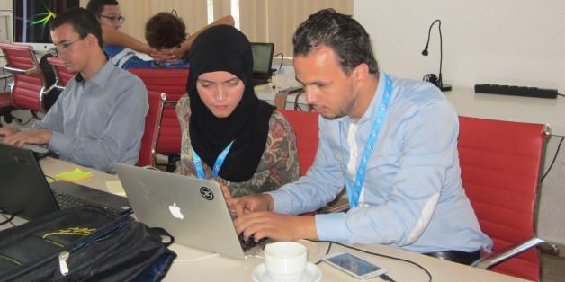 Hackathon de Tunis, du 2 au 4 octobre 2015.