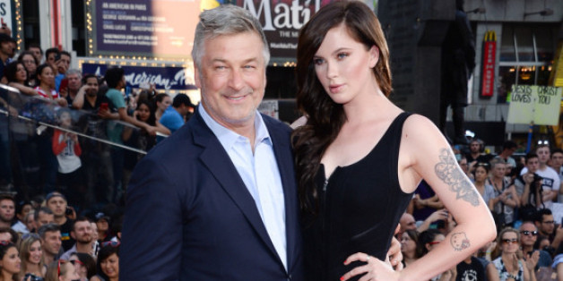 "Alec und Ireland Baldwin bei der ""Mission Impossible 5""-Premiere in New York"