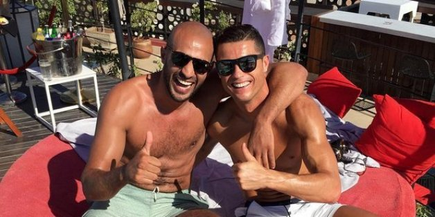 Cristiano Ronaldo fait la fête avec Badr Hari à Marrakech
