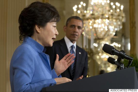 obama park geun hye