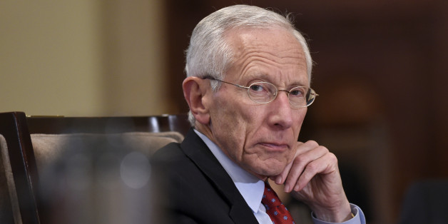 Federal Reserve Vice Chairman Stanley Fischer listens during a meeting of the Board of Governors of the Federal Reserve System at the Federal Reserve in Washington, Wednesday, Oct. 22, 2014. The meeting was to discuss a final rulemaking requiring sponsors of securitization transactions to retain risk in those transactions. (AP Photo/Susan Walsh)