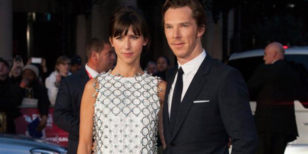 Benedict Cumberbach mit seiner Frau auf dem roten Teppich,