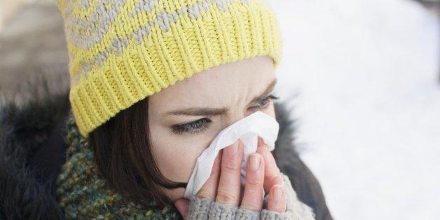 Fünf effektive Tipps gegen Erkältungen.