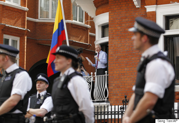 police embassy assange