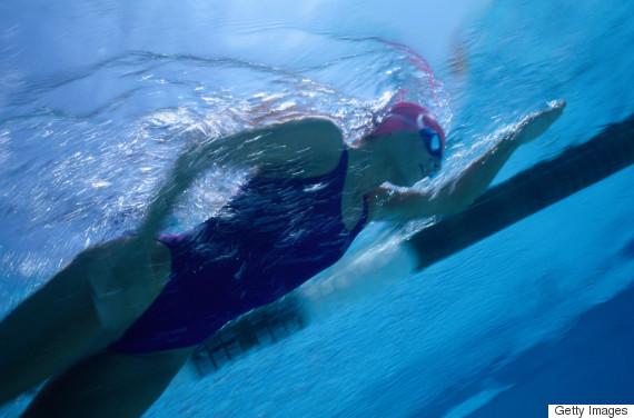 swimming athlete