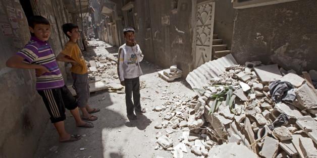 Russische Botschaft in Syrien von Granaten getroffen