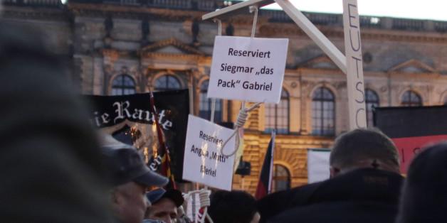 Staatsanwalt ermittelt gegen Pegida-Hohlköpfe von Dresden