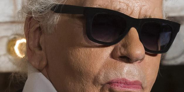 Karl Lagerfeld eröffnete am Montag die neue Chanel Ausstellung.