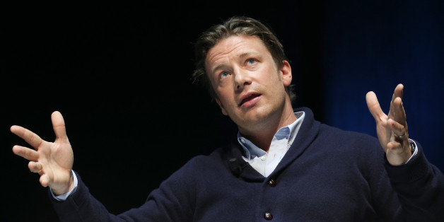 Chef and businessman Jamie Oliver  speaks onstage a the Edelman seminar  during the Cannes Lions International Festival of Creativity on June 23, 2015 in Cannes, France.  (Photo by Richard Bord/Getty Images)