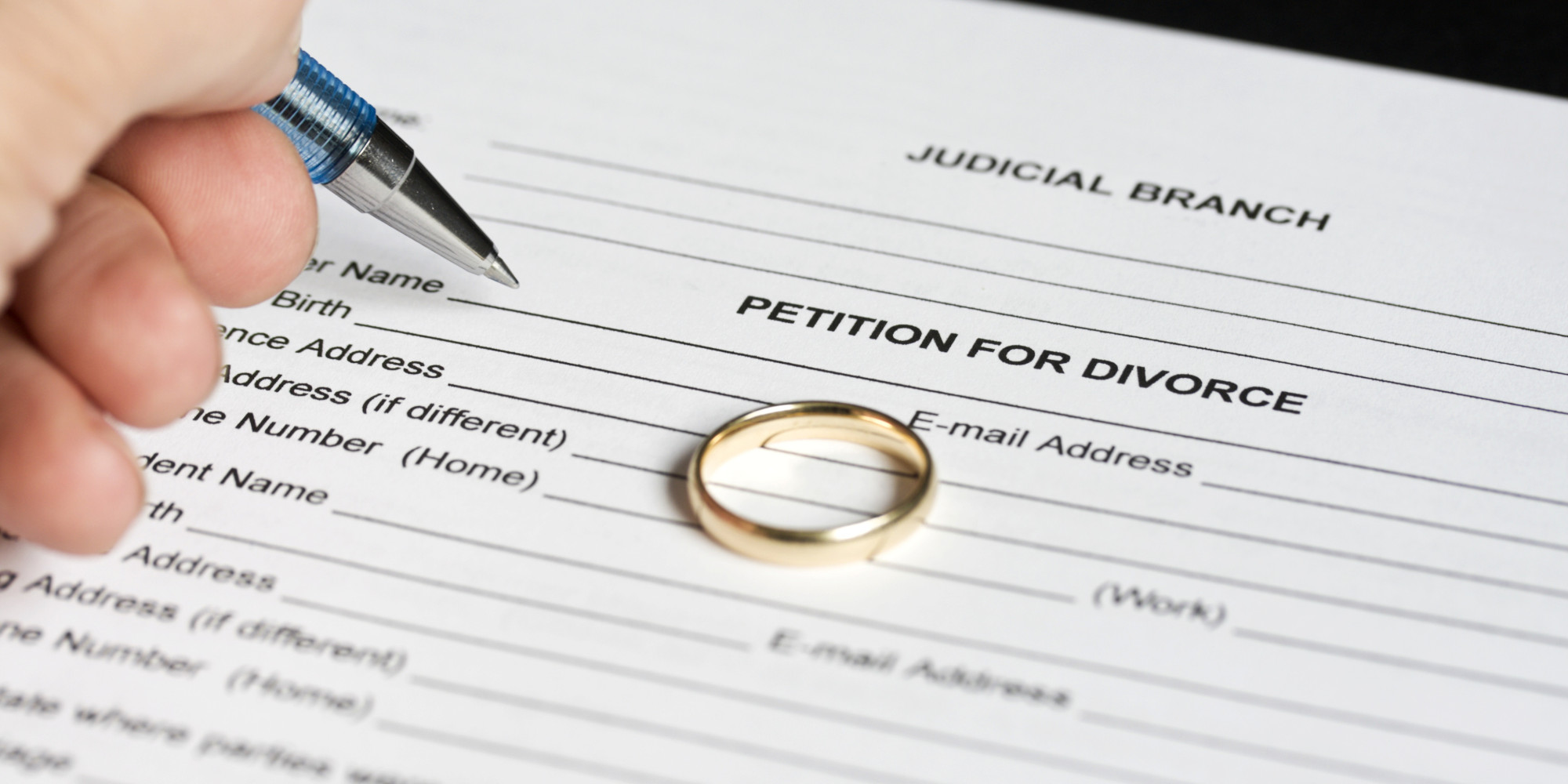 Dating after divorce papers are signed california