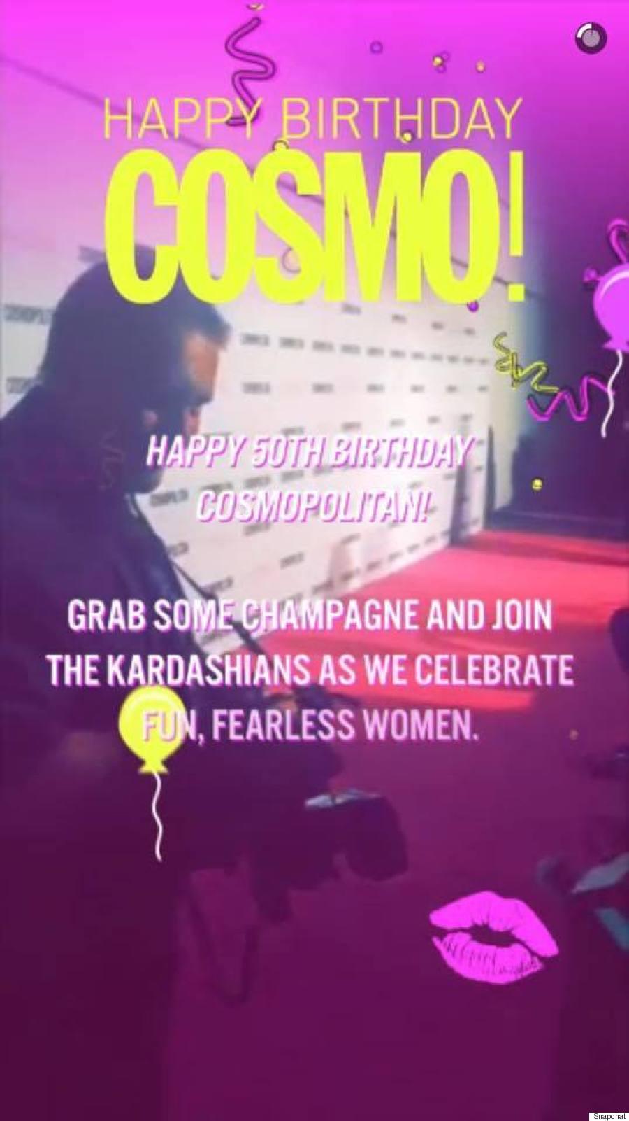 cosmo birthday
