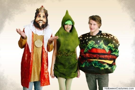 burger king costume