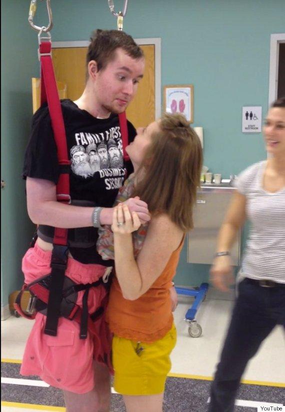 quadriplegic man