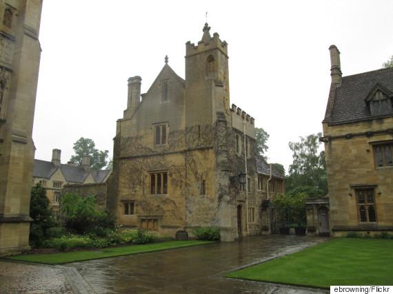 oxford university rain
