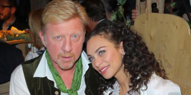 Lilly Becker mit ihrem Boris auf dem Münchner Oktoberfest