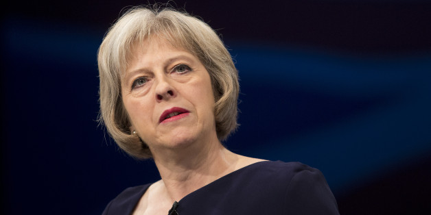Theresa May delivers her speech to delegates in the third day of the Conservative Party annual conference in Manchester
