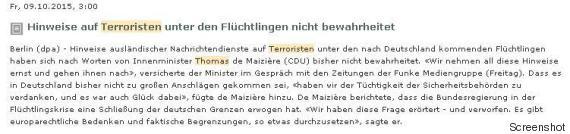 terroriten fluechtlinge