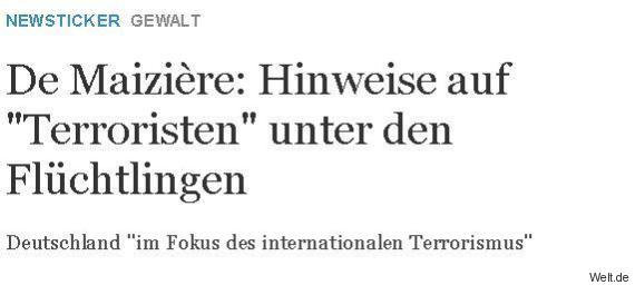 terroristen fluechtlinge