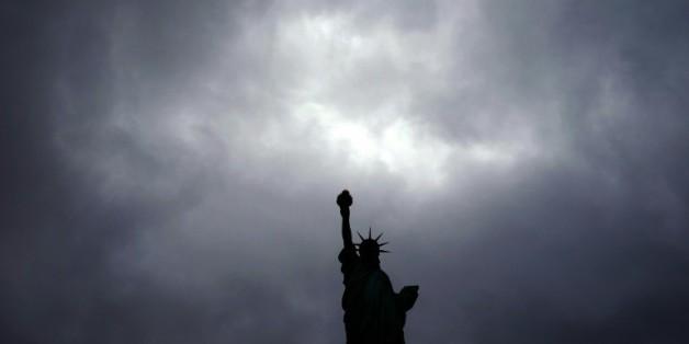 La statue de la Liberté, le 3 octobre 2015 à New York