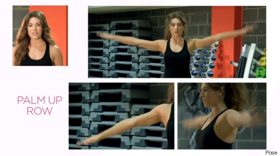 posture arm exercises