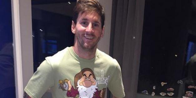 Lionel de Messi reçoit un drôle de cadeau de la part de Luis Suarez