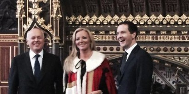 Iain Duncan Smith, Michelle Mone and George Osborne