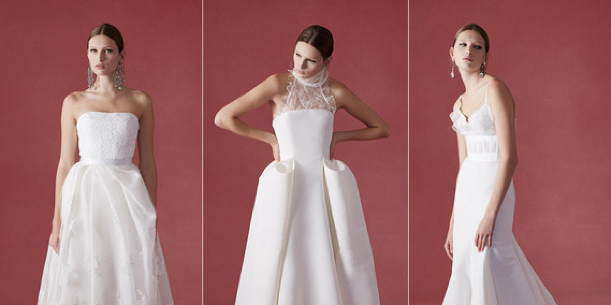See oscar de la renta 39 s fall 2016 wedding dress collection for Where to buy oscar de la renta wedding dress