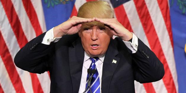 Donald Trump ist immer für einen Schenkelklopfer gut