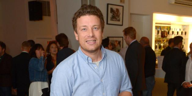 Jamie Oliver hat von dem Einbruch nichts mitbekommen.