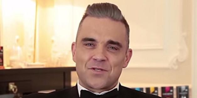 So sieht Robbie Williams im neuen Werbespot aus.