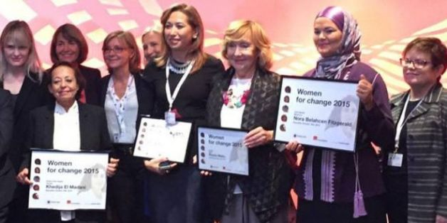 Prix Women for change: La Marocaine Nora Belahcen Fitzgerald récompensée