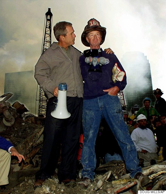 twin towers george bush