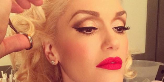 Roter Lippenstift ist seit vielen Jahren Gwen Stefanis Markenzeichen