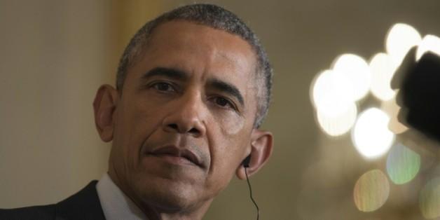 Le président américain Barack Obama à la Maison Blanche, le 16 octobre 2015, à Washington
