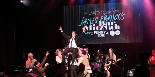 James Franco holte am Wochenende seine Bar Mitzwa nach