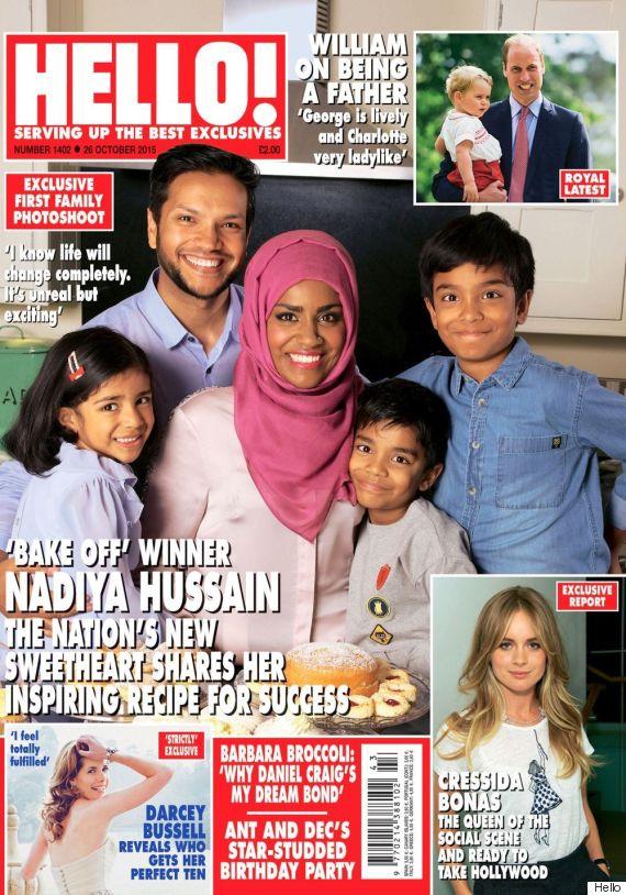 nadiya bake off hello magazine
