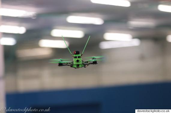 london drone racing