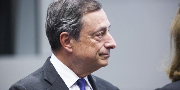 Mario Draghi, Präsident der Europäischen Zentralbank. Martin Leissl/Bloomberg via Getty Images