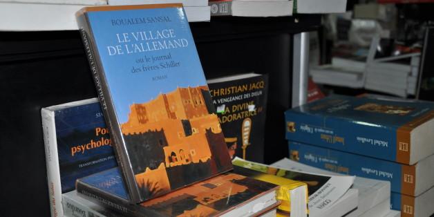 """""""Le village de l'allemand"""", roman de Boualem Sansal, en vente ce lundi 19 octobre dans une librairie à Alger"""