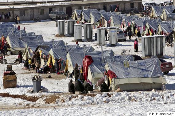 syria snow