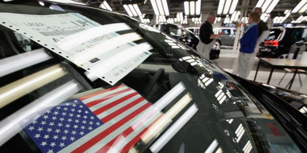 Eine Volkswagen-Werkstätte in den USA