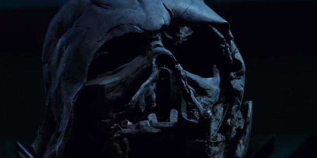 """Darth Vaders Maske im neuen """"Star Wars""""-Trailer"""