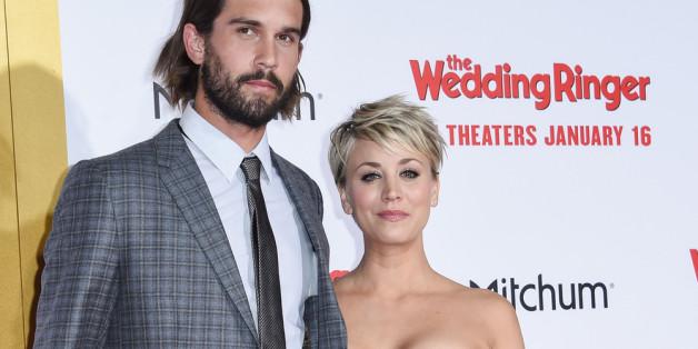Ryan Sweeting und Kaley Cuoco im Januar bei einer Veranstaltung in Los Angeles