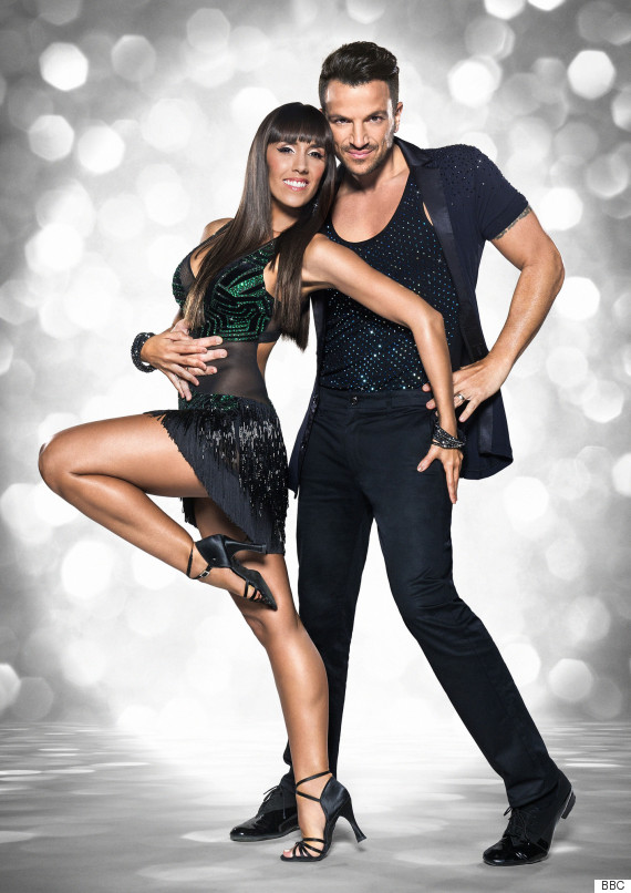 peter andre strictly come dancing janette